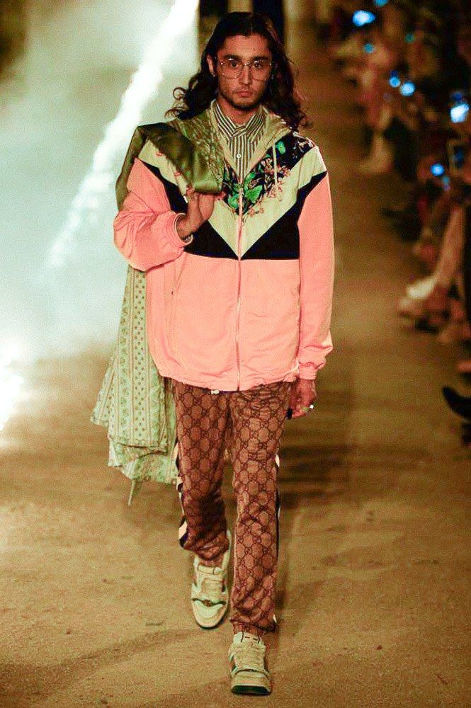 0bc2efd2987 Male Fashion Trends  Gucci Resort 2019 Runway Show