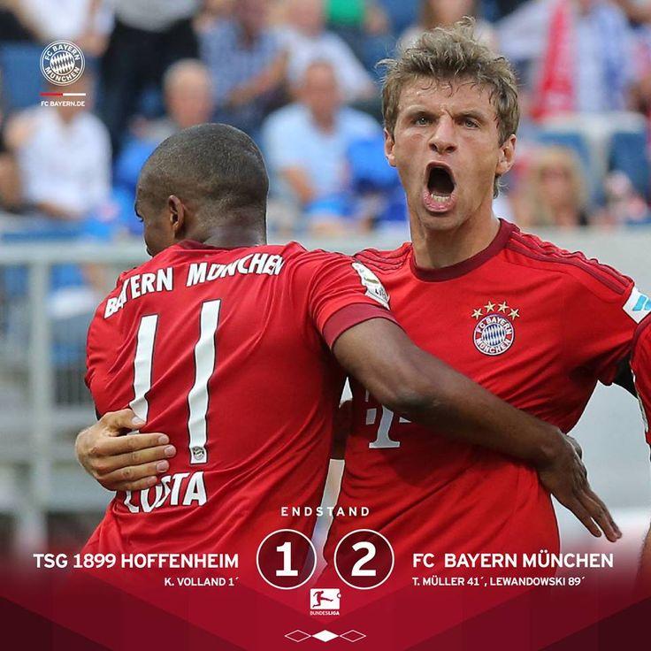 ENDSTAND (und kurz durchatmen): TSG 1899 Hoffenheim 1 - 2 FC Bayern München