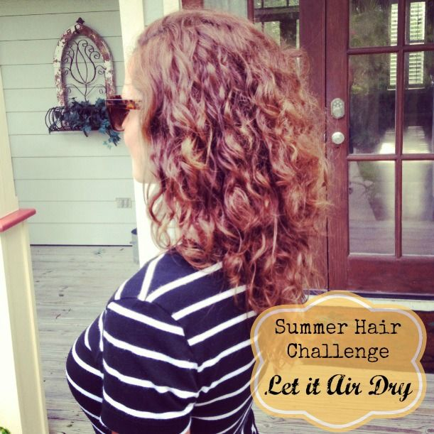 Air dry styling curly hair. | Get Your Pretty On | Outfits