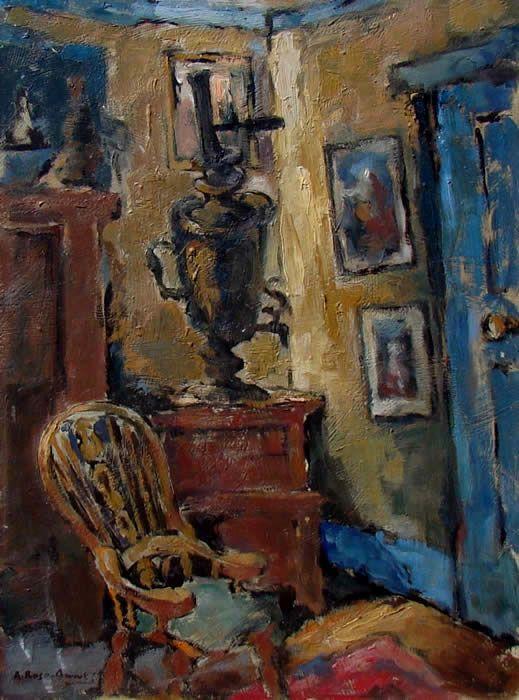 Interior Scene - Alexander Rose-Innes