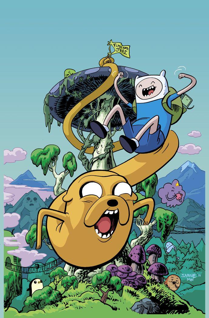 Adventure Time ECCC variant cover by fatheadwilson.deviantart.com on @deviantART