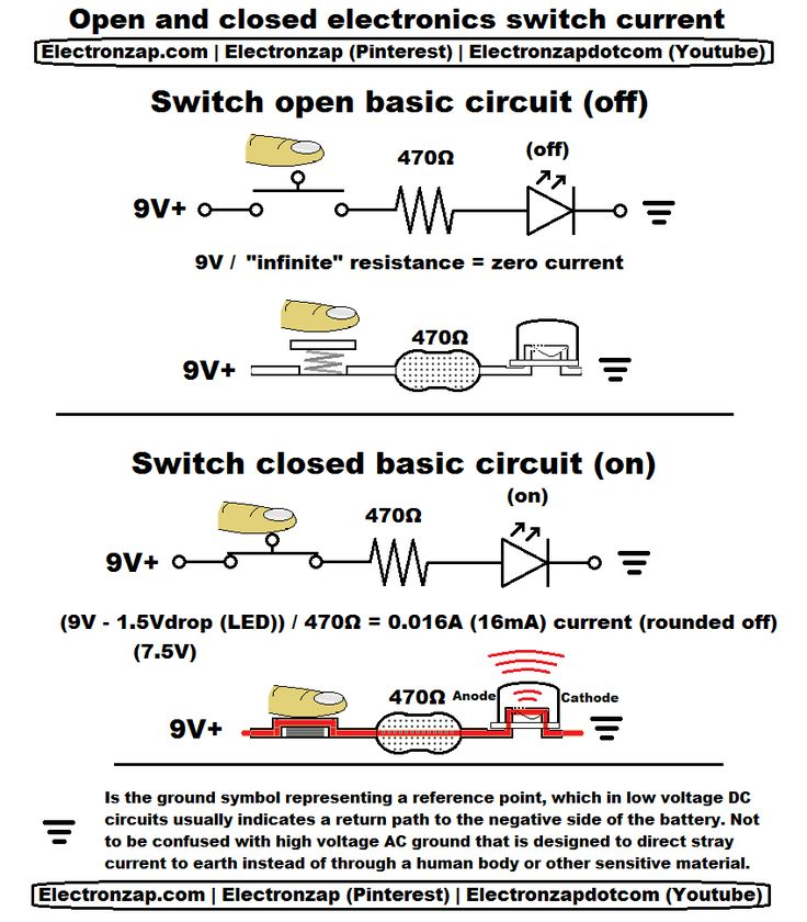 Open Close Limit Switch Wiring Diagram: 1000+ Images About Electronics On Pinterest