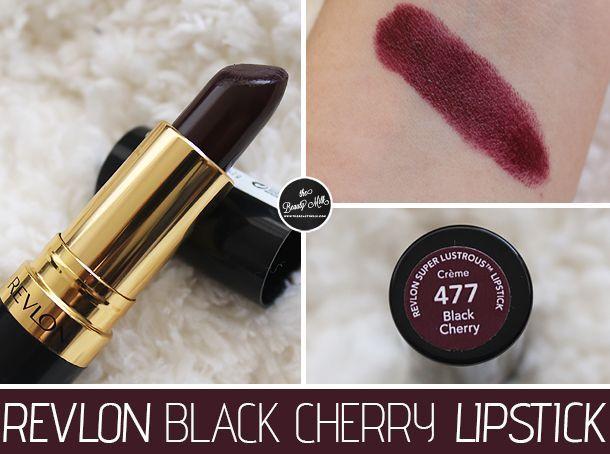 VERLON - Black Cherry Lipstick