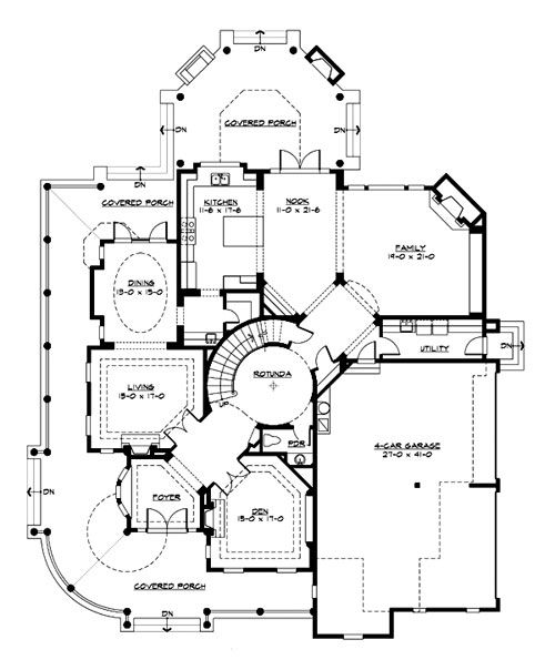 Victorian Cottage Plans Victorian Style House Plan   Sq Ft