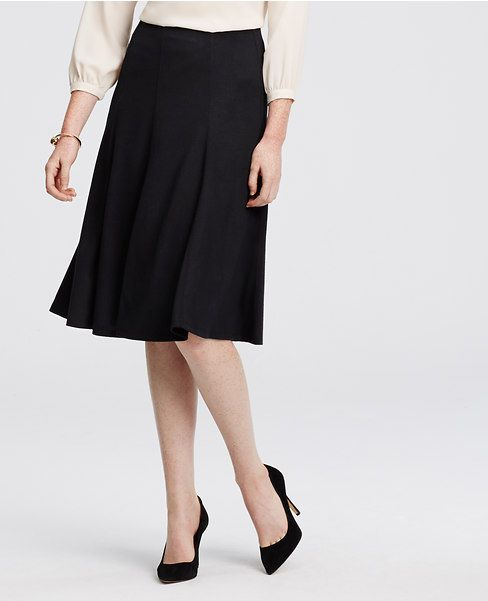 Primary Image of Jersey Midi Skirt