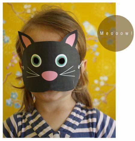 DIY - Dierenmaskers - Moodkids : Moodkids