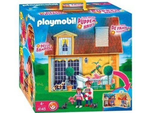 Amazon.de:PLAYMOBIL® 4145 - Mein Mitnehm-Puppenhaus