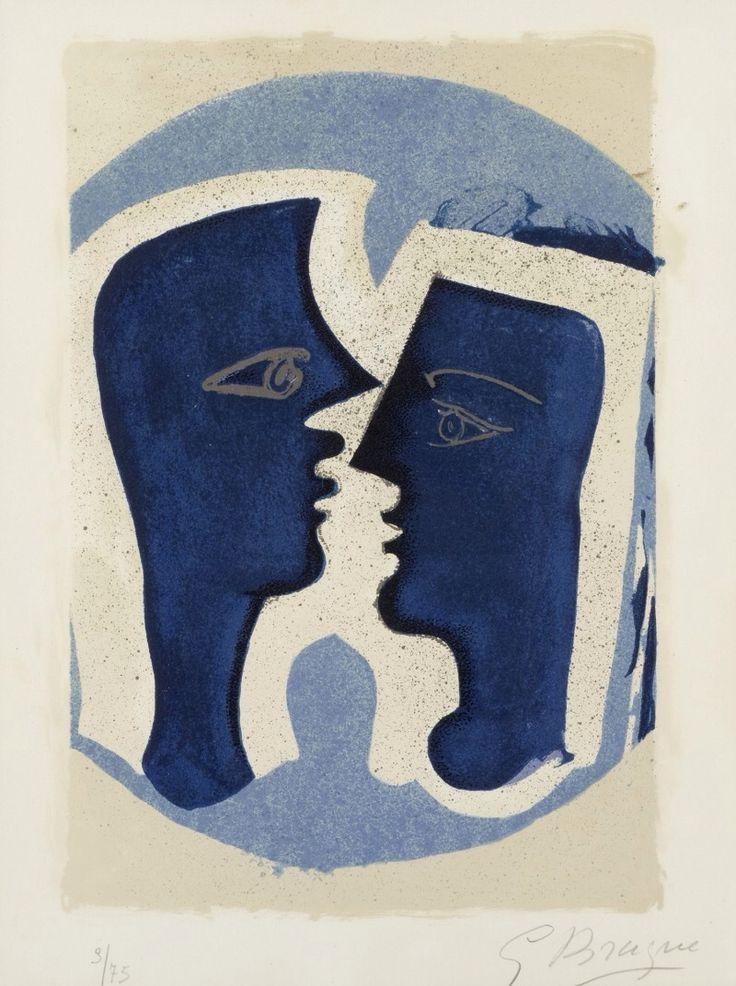preciousandfregilethings:  le-baiser-du-serpent:Georges Braque.
