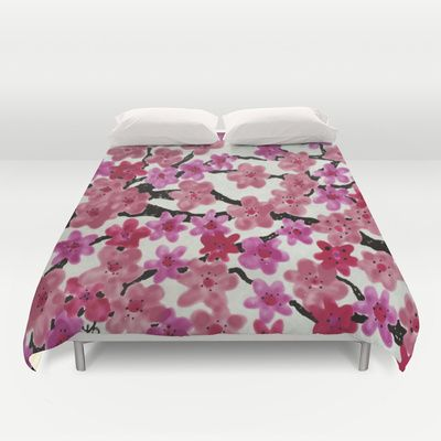 47 Best Images About Cherry Blossom Duvet Cover On