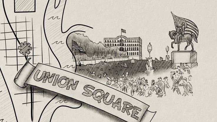 In the United States and Canada, the first Monday of September is a federal holiday, Labor Day. Originally celebrated in New York City's Union Square in 1882, Labor Day was organized by unions as a rare day of rest for the overworked during the Industrial Revolution. Kenneth C. Davis illustrates the history of Labor Day from Union Square to today.