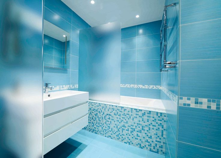Blue Small Bathroom Designs Ideas Decoration Master