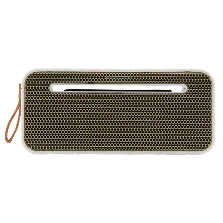 aMOVE högtalare, vit/guld i gruppen Inredningsdetaljer / Hemmets bra att ha / Radioapparater hos RUM21.se (129974)