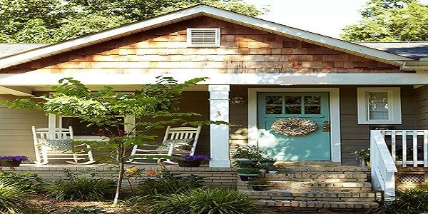 Exterior Home Design with Mix and Match Siding