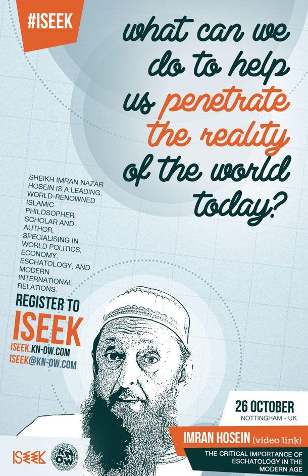 Imran Hosein - The Critical Importance of Islamic Eschatology