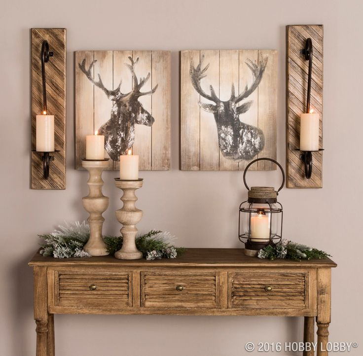 From Hobby Lobby · Oh, Deeru2014winter Is Almost Here! Embrace The Season By  Creating A Warm. Basement Decorating IdeasBasement IdeasHome ...