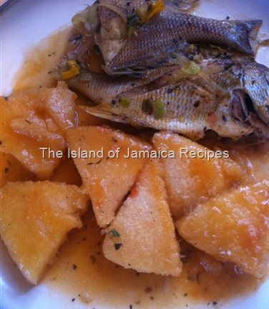 how to make steam fish jamaican style okra
