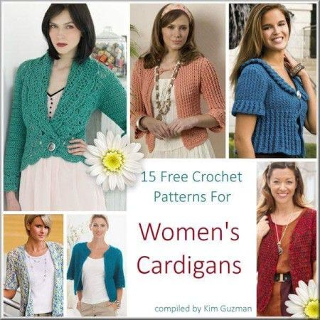 Isn't now the perfect time to make something for yourself? Choose from one of these Beautiful Free Cardigan #crochet patterns!: