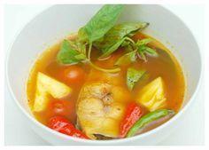 resep sup ikan tuna asam pedas