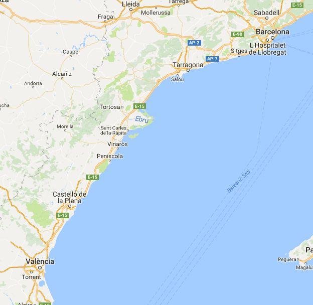 Distance between Barcelona, Spania and València, Spania, (Spain)