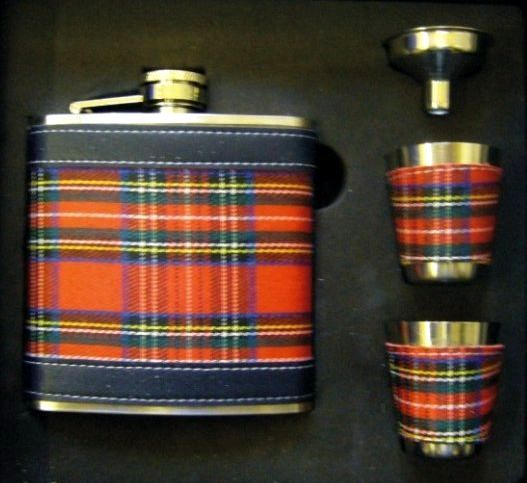 I love this little Tartan flask. I take it to every Scottish event now filled with Scotch. Its a must by from Highland X Press