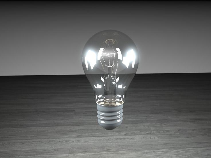 light bulb - 3ds max - vray