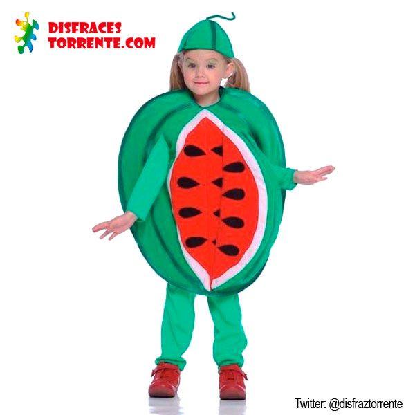 Disfraces de frutas para niñas. Divertido y original disfraz de fruta, que bien…