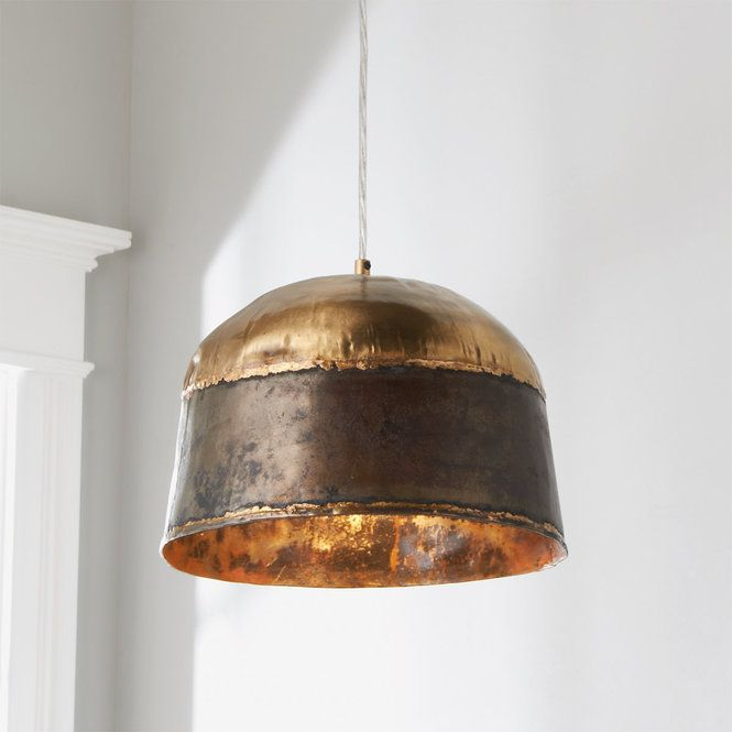 Brass And Steel Soldered Pendant Copper Lighting Copper Light Fixture Kitchen Pendant Lighting