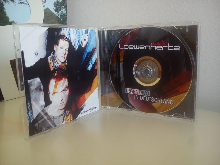 CD Cover for Loewenhertz (Germany)