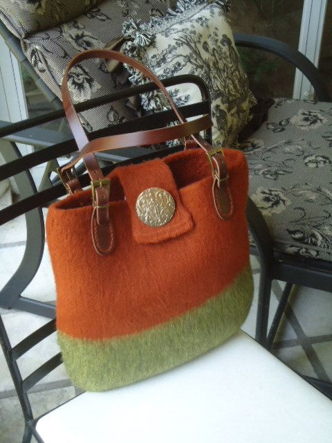 Felted bags...