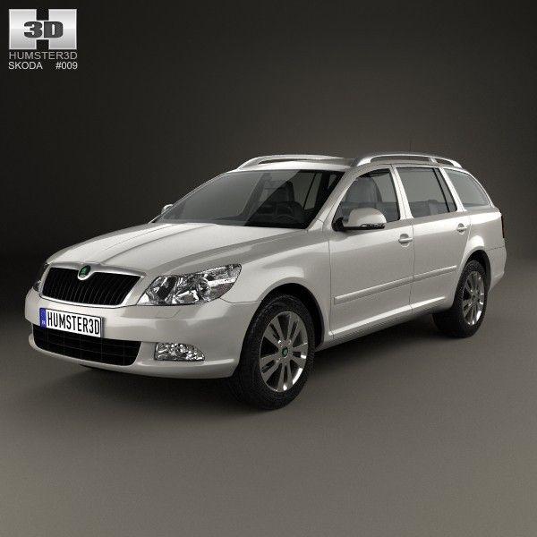 3D Model Car 2008 - 3D Model