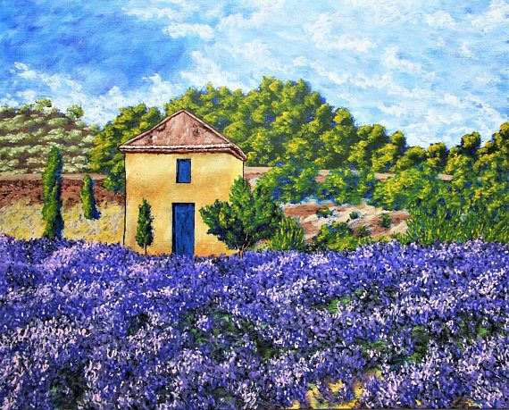 Brightscapes: The Way To Beauty Lavender Farm, 2018 To purchase ...