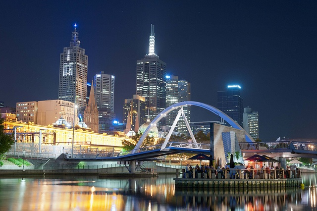 Bridge to Southgate Melbourne by Keith McInnes Photography, via Flickr