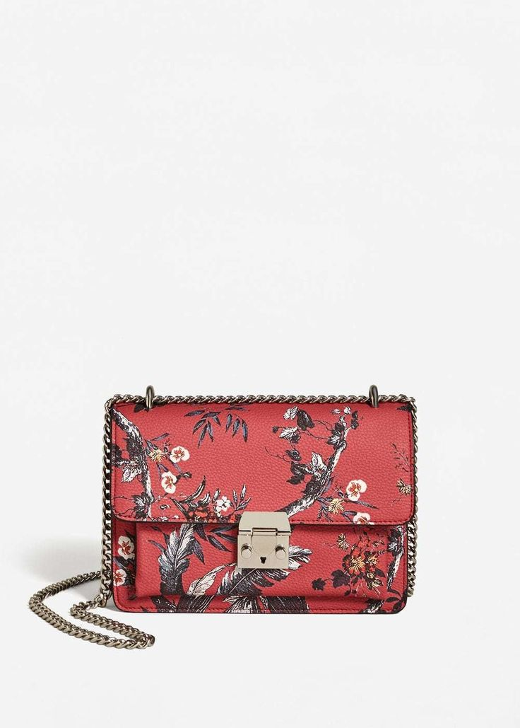 Leather Zip Around Wallet - RED TIGER LILIES by VIDA VIDA luE6BY
