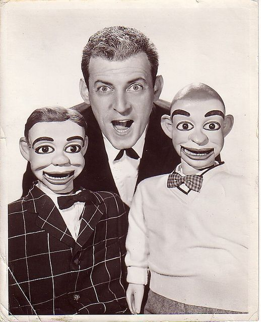 Paul Winchell and his pals Jerry Mahoney & Knucklehead Smiff