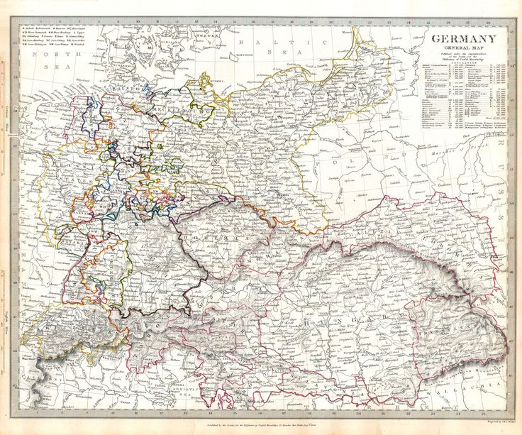 Society for the Diffusion of Useful Knowledge 52. Germany 1840