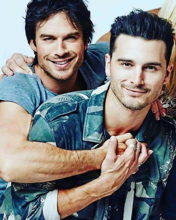 Michael Malarkey and Ian Somerhalder