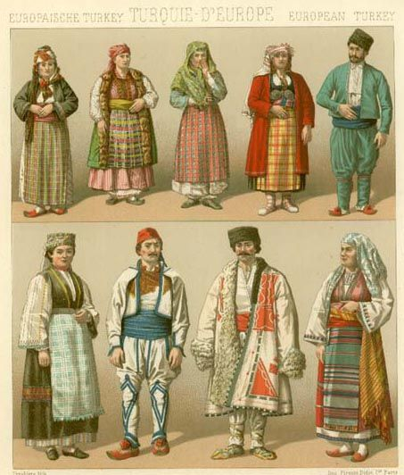 Even the clothing that the low class wore were very interesting, and didn't make them seem low class at all, they still seemed pretty wealthy.