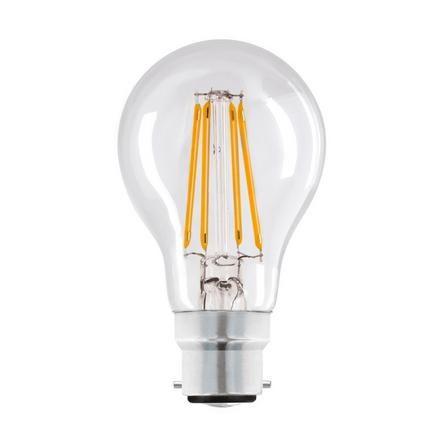 Dunelm Dunelm 4W LED Filament GLS Bayonet Cap Light Bulb