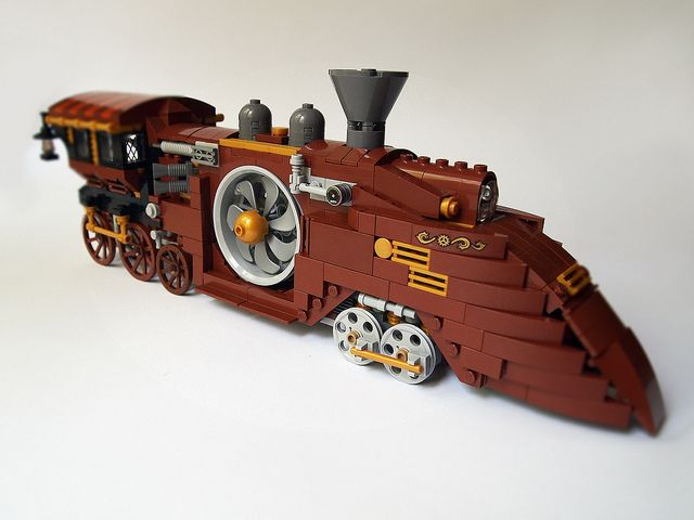 ~ Lego MOCs ~ Steam locomotive_1