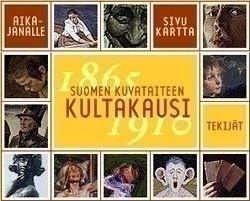 Suomalaisen taiteen aikajana ja 10 taiteilijan esittelyt.