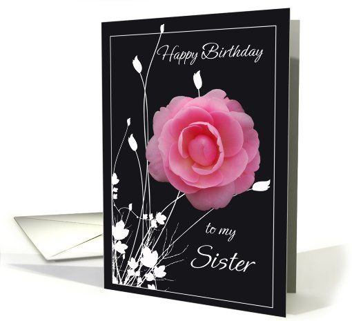 sold to customer in  California, United States Happy Birthday sister card (242020)
