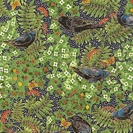AYEM-14666-69 by Ayse Gilbert from Midnight Sun: Robert Kaufman Fabric Company