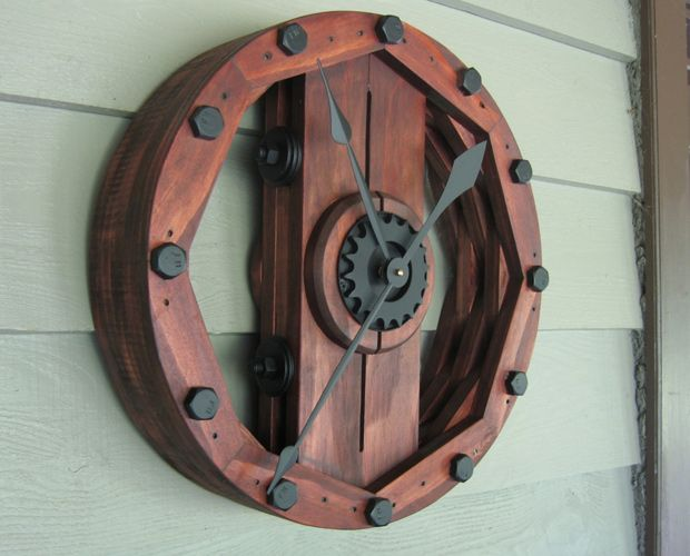 industrial wheel old upcycled vintage etsy