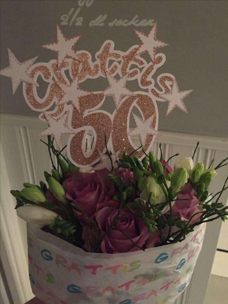 50 års bukett