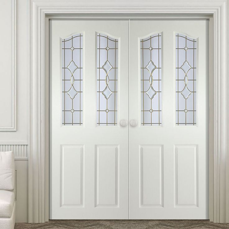 Brechin Swept Top Internal PVC Door Pair - Brechin Andromeda Bevel Glass and Leadwork & 38 best Internal PVC Double Doors images on Pinterest | Double ... pezcame.com
