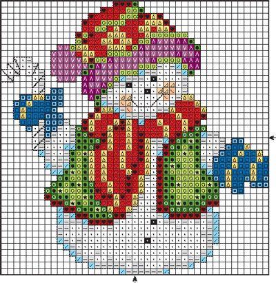 Панно ''снеговики-музыканты'' :: Панно и картины :: Вышивка крестиком/Panel and pictures cross-stitch :: RukoDelie.by