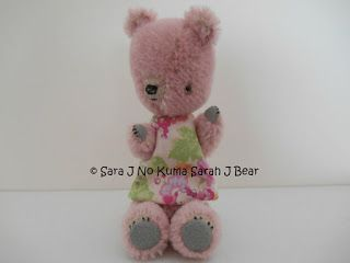 ADOPTED Hanae by Sara J No Kuma Sarah J Bear