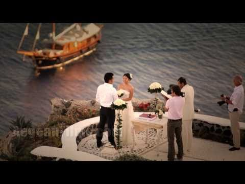 Santorini Wedding Time Lapse Cinema