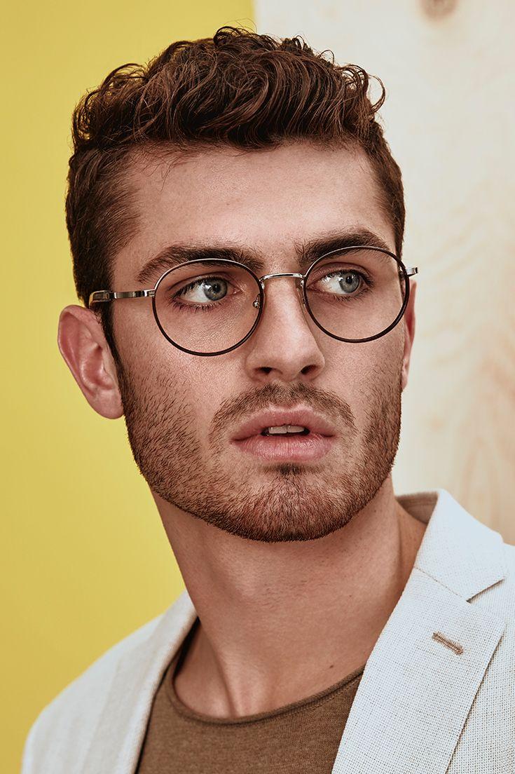 Men S Eyeglasses Reach In Matte Black Em 2020 Tendencias Da