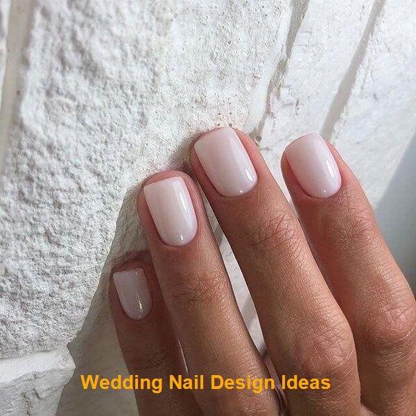 40+ designs d'ongles naturels pour toutes les occasions   – Wedding Nails